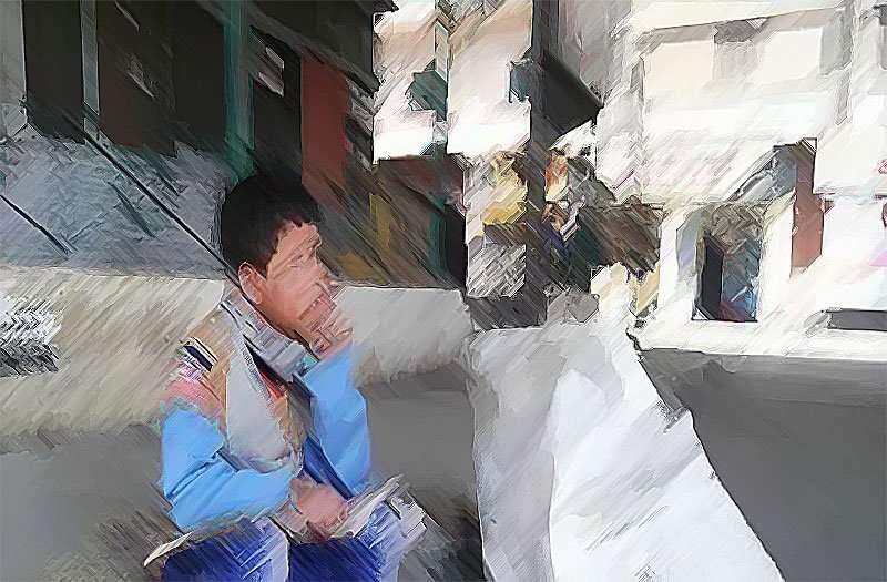 طفلٌ في مهدِ جبران, صحيفة عربية -بروفايل نيوز