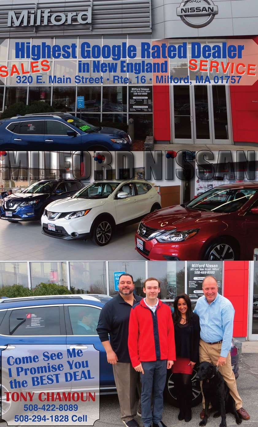 Milford Nissan, Arabic newspaper -Profile News