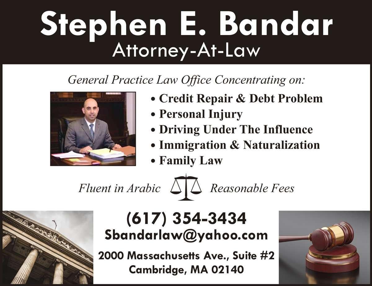 Steven E. Bandar – Attorney at Law, Arabic newspaper -Profile News