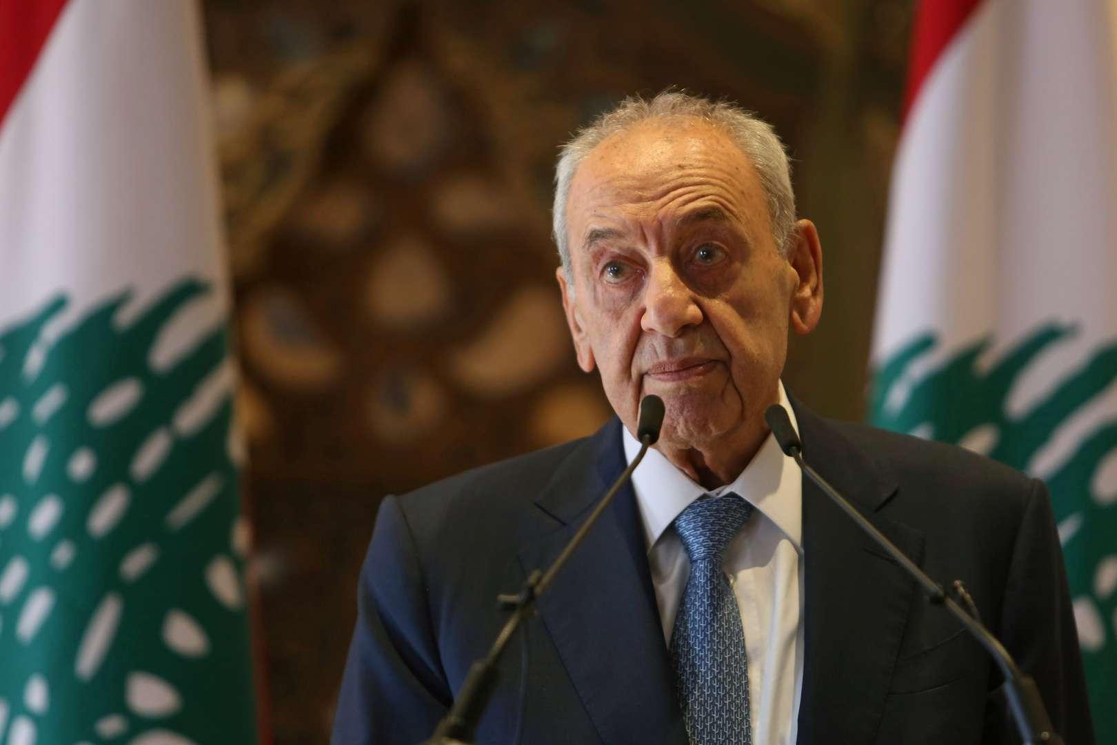Berri: President Aoun has no right to reject Hariri, Arabic newspaper -Profile News