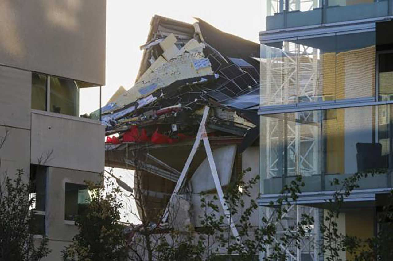 مقتل 5 أشخاص بانهيار مبنى في بلجيكا, صحيفة عربية -بروفايل نيوز