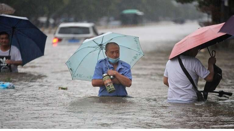 """A """"very dangerous"""" situation due to floods in central China, Arabic newspaper -Profile News"""
