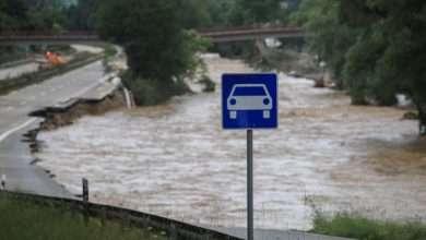 Massive German flood damage to railways, Arabic newspaper -Profile News