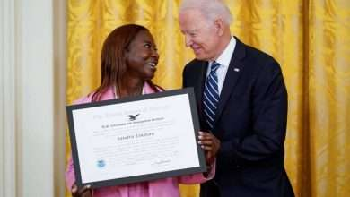 A Jamaican nurse obtains American citizenship and makes history… and the reason?, Arabic newspaper -Profile News