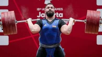 """The Syrian champion """"Maen Asaad"""" wins the first bronze medal for Syria in the """"Tokyo 2020"""" Olympics, Arabic newspaper -Profile News"""