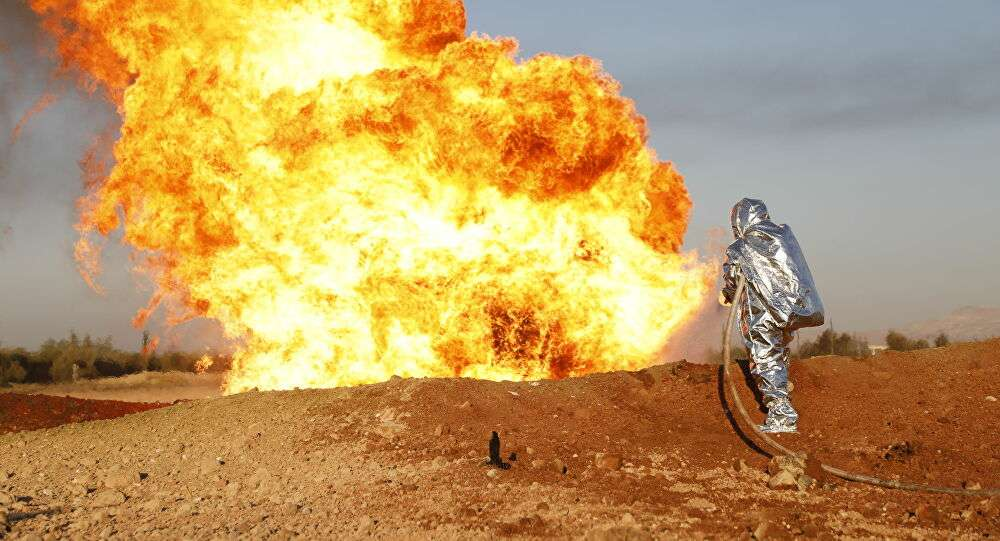A terrorist organization claims responsibility for the bombing of a gas pipeline in Syria, Arabic newspaper -Profile News