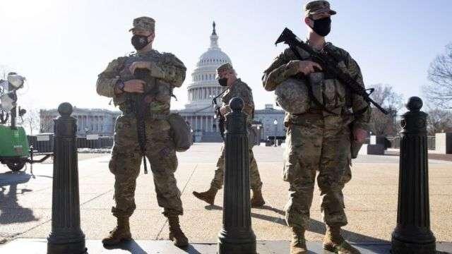 Intense security reinforcements in Washington, Arabic newspaper -Profile News