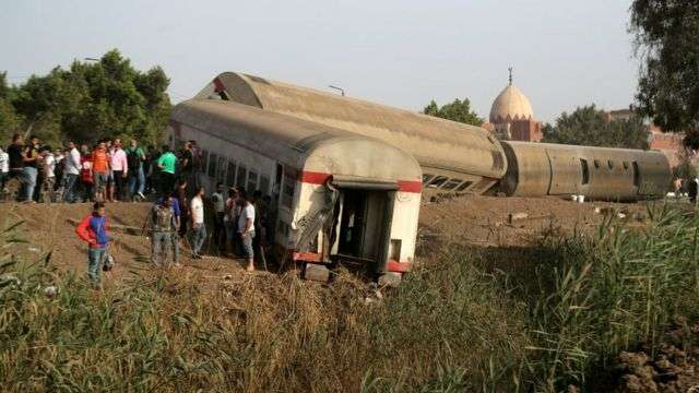 Train accidents return to the fore in Egypt, Arabic newspaper -Profile News