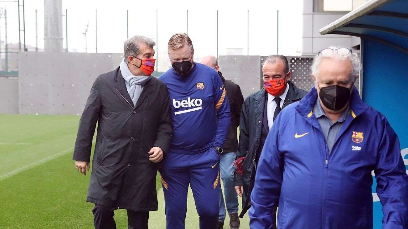 Ronald Koeman continues as Barcelona coach, but with conditions, Arabic newspaper -Profile News