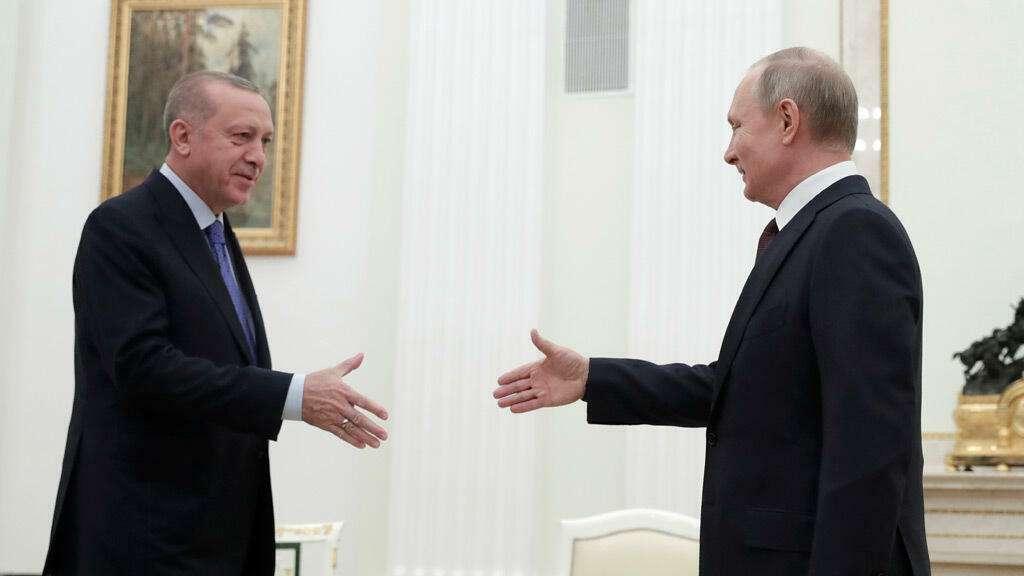 بوتين ينهي العزل الطبي بلقاء الرئيس التركي اردوغان، ماعلاقة سورية؟, صحيفة عربية -بروفايل نيوز