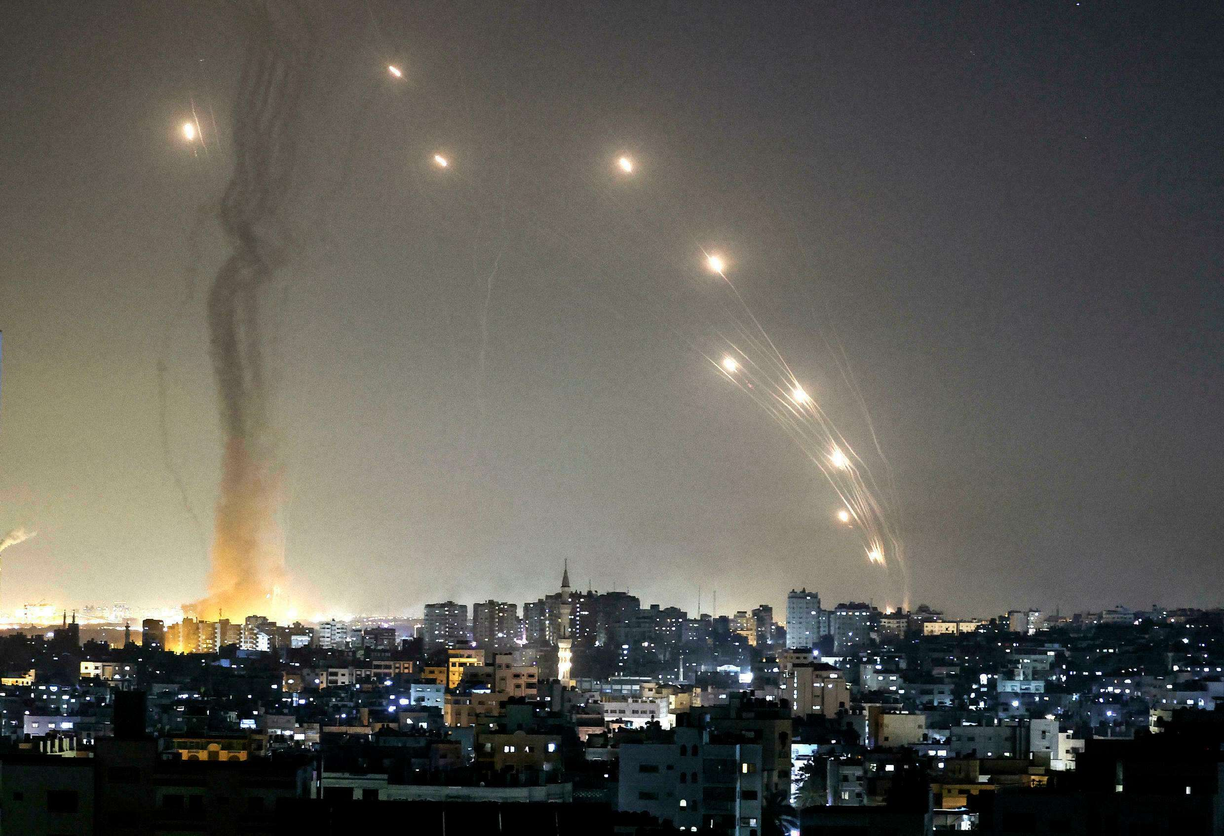 Air confrontation in Israel, Arabic newspaper -Profile News