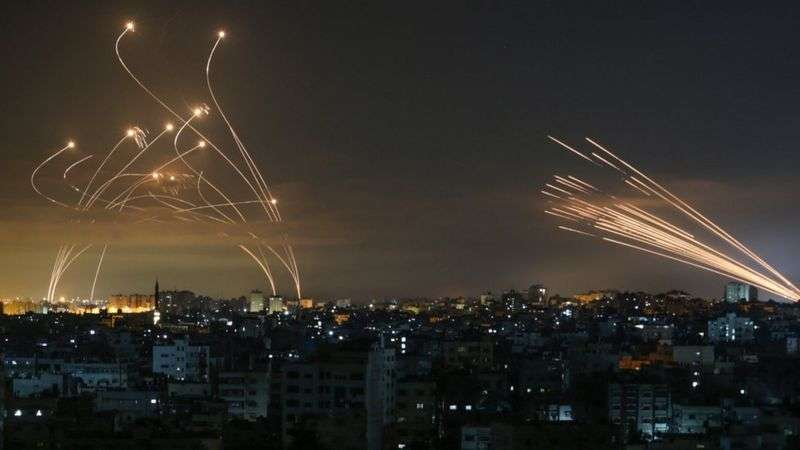 إسرائيل تتحدث عن هجوم صاروخي, صحيفة عربية -بروفايل نيوز