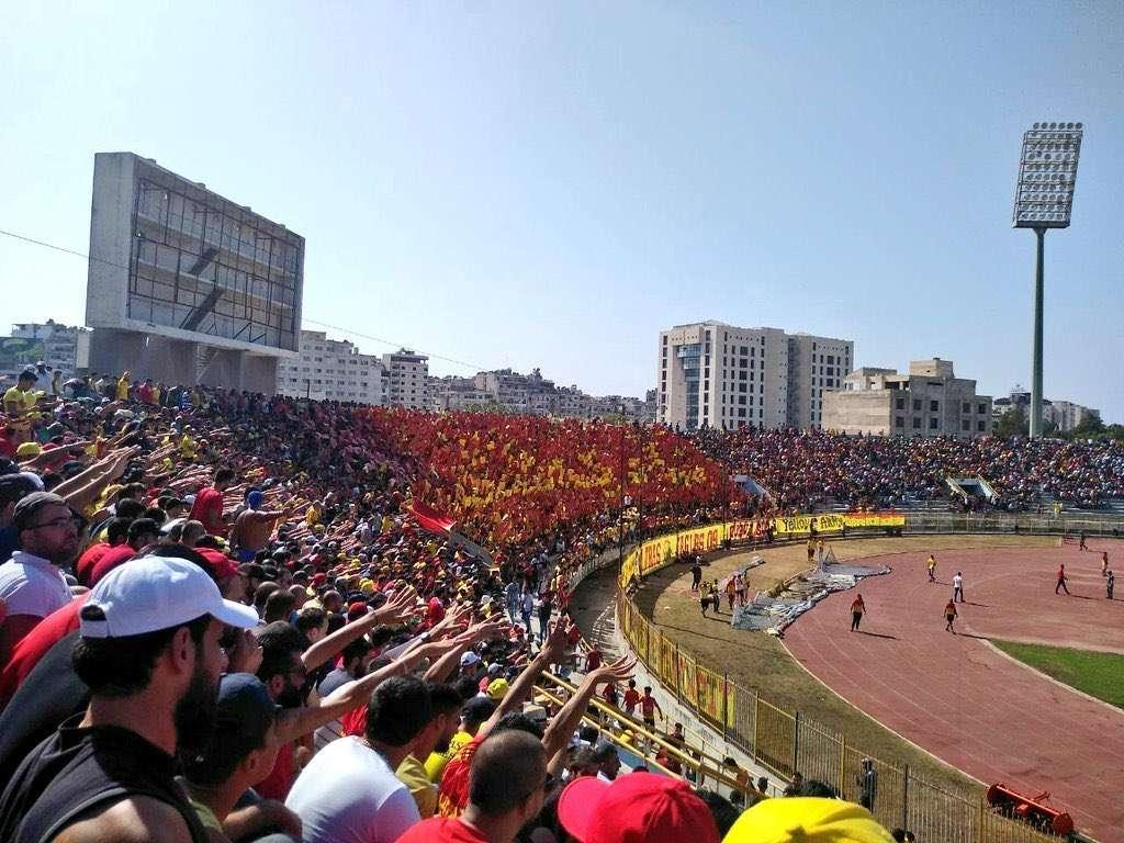 Syria derby is yellow, Arabic newspaper -Profile News