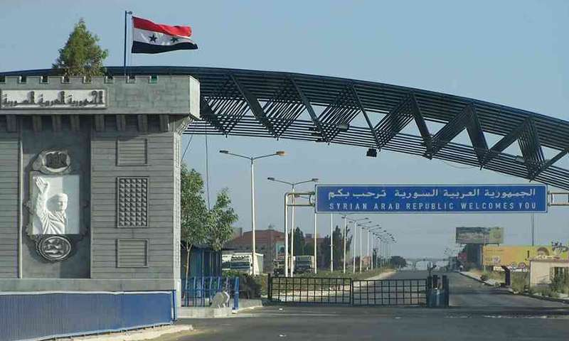 Announcing the opening of the Syrian border and the return of trade relations between Syria and one of its neighbors, Arabic newspaper -Profile News