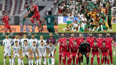 مواعيد مباريات المنتخبات العربية اليوم في تصفيات مونديال قطر, صحيفة عربية -بروفايل نيوز
