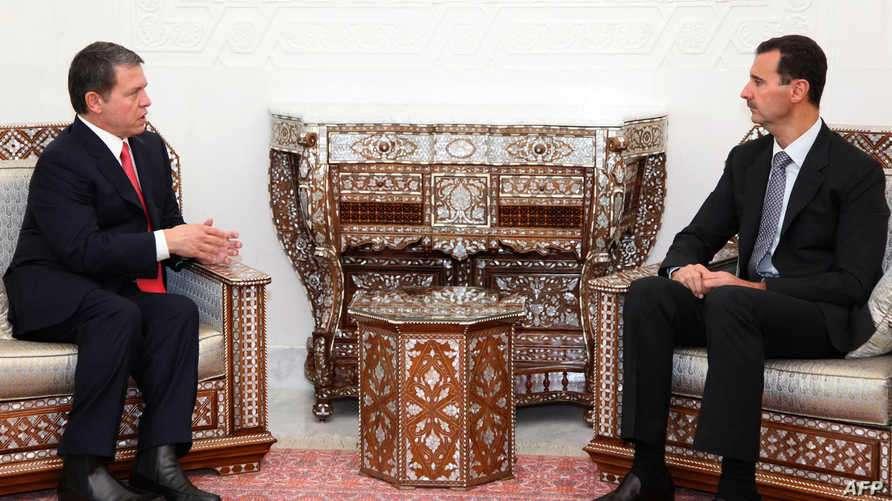لاول مرة منذ سنوات، اتصال هاتفي بين الرئيس الاسد وملك الاردن, صحيفة عربية -بروفايل نيوز