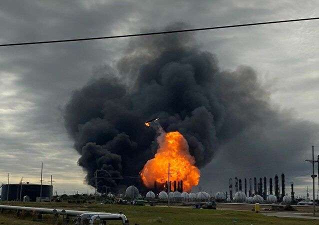 Huge explosion at a Russian natural gas processing plant, Arabic newspaper -Profile News