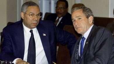 بوش ينعي وزير خارجيته السابق, صحيفة عربية -بروفايل نيوز