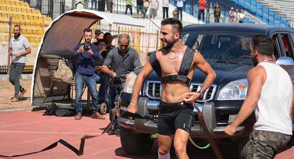 رياضي سوري يحطم رقم أمريكي في غينيس, صحيفة عربية -بروفايل نيوز