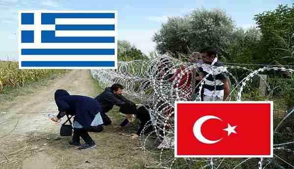 القوات اليونانية تدفع بالمزيد من التعزيزات الى الحدود التركيا لمكافحة تدفق اللاجئين, صحيفة عربية -بروفايل نيوز