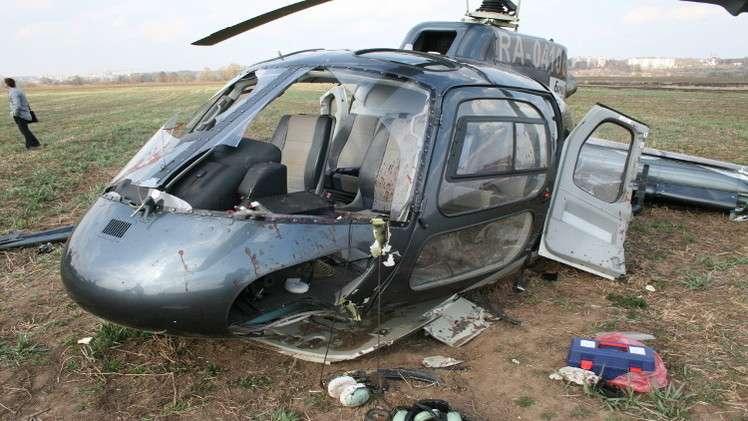 ضحايا بسقوط مروحية في موسكو, صحيفة عربية -بروفايل نيوز