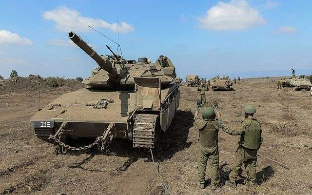 Israeli military movements in the Golan, Arabic newspaper -Profile News