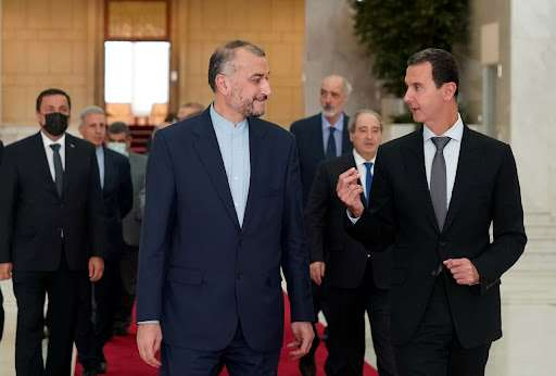 What happened in the meeting of al-Assad and the Iranian foreign minister?, Arabic newspaper -Profile News